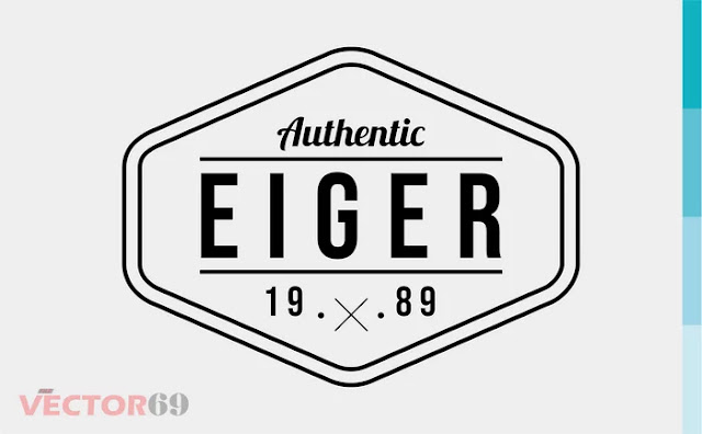 Eiger 1989 Logo - Download Vector File SVG (Scalable Vector Graphics)