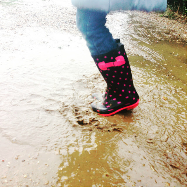 Jumping in puddles @ ups and downs, smiles and frowns