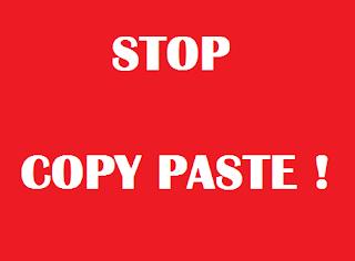 Copy Paste Itu Hal Yang Memalukan Serta Dampak Buruknya