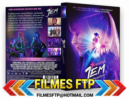 Jem E As Hologramas 2016 Dublado DVD-R / AVI