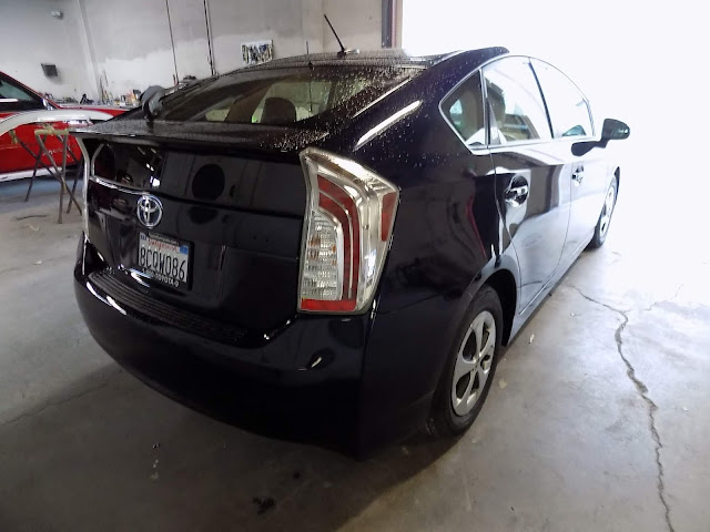 Toyota Prius after repainting at Almost Everything Auto Body