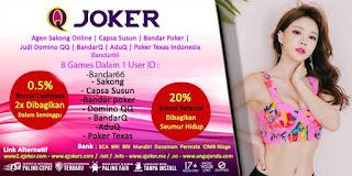 Cara Menang Judi BandarQ Online QJoker - www.Sakong2018.com