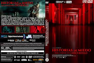 CARATULAHISTORIAS DE MIEDO PARA CONTAR EN LA OSCURIDAD - SCARY STORIES TO TELL IN THE DARK - 2019
