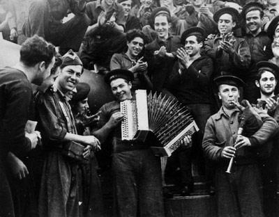 canciones y musica de la guerra civil española