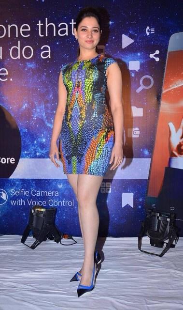 Hot Tamanna Bhatia photos at Mobile Promotion