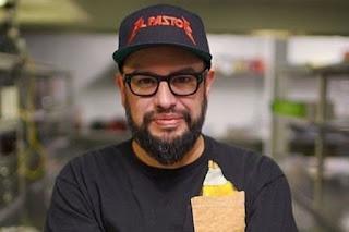 Picture of late American chef Carl Ruiz