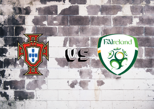 Portugal vs República de Irlanda  Resumen y Partido Completo