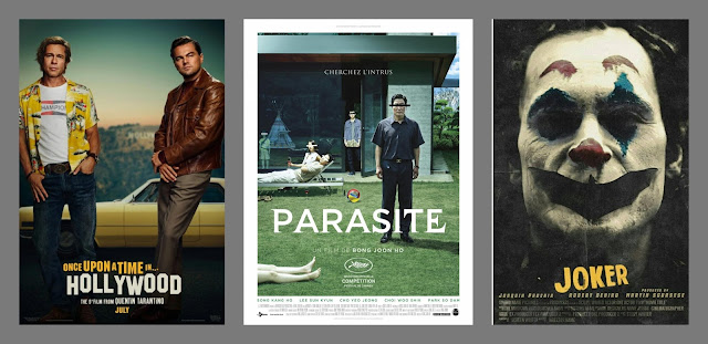 Once Upon a Time in Hollywood, Dawno temu w Hollywood, Parasite, Joker