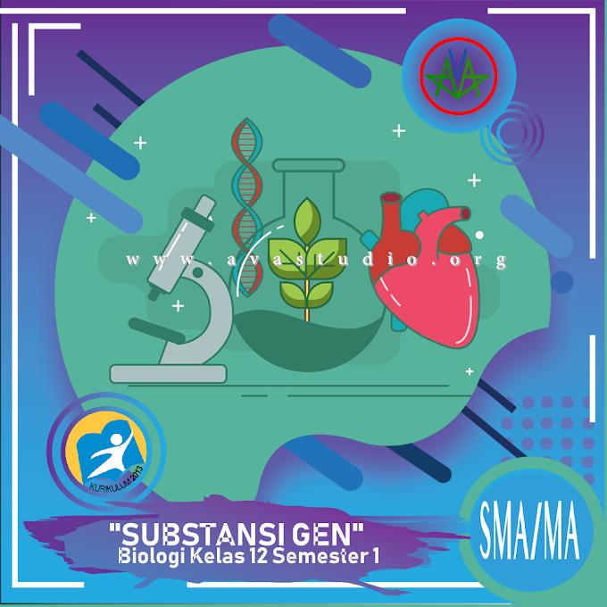 Rangkuman Materi Biologi - Substansi Gen