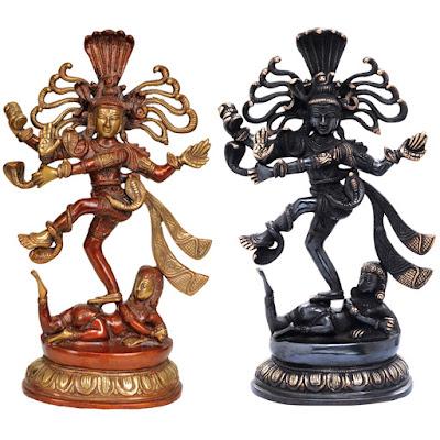 Nataraja's Tandava Brass Statue