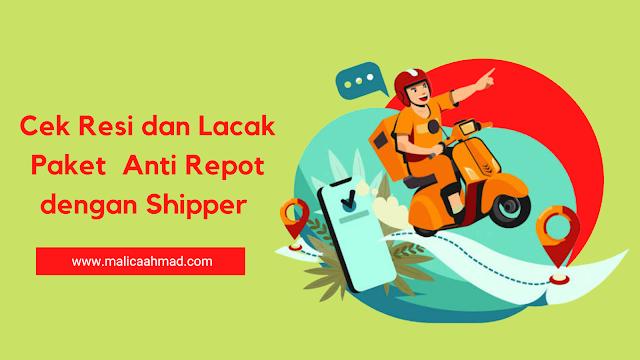lacak paket shipper
