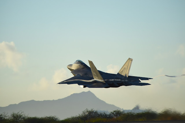 USAF Lockheed Martin F-22 Raptor