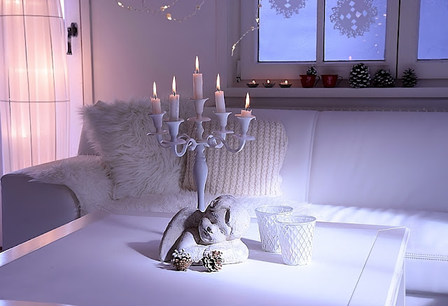 Österreichische Blogger Christmas Hometour Blog White and Vintage