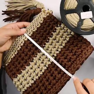Bolso Iris a Crochet