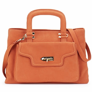 MySuelly Orange Handbag Tasche Tote