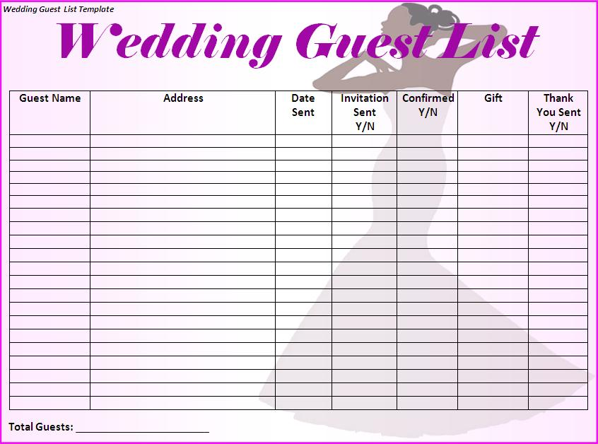 Mod les microsoft office invit de mariage mod le de liste for Wedding vendor checklist template