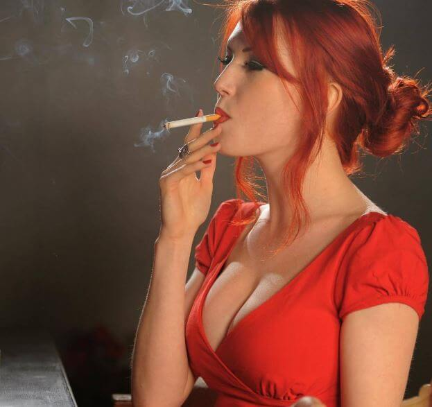 Ten countries with more women smoke
