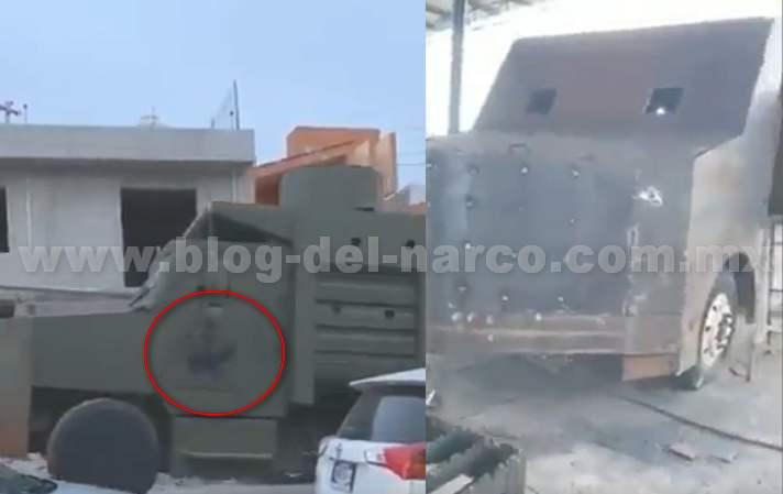 Video; Soldados decomisan Monstruos Blindados del CJNG en Tuxpan; Jalisco