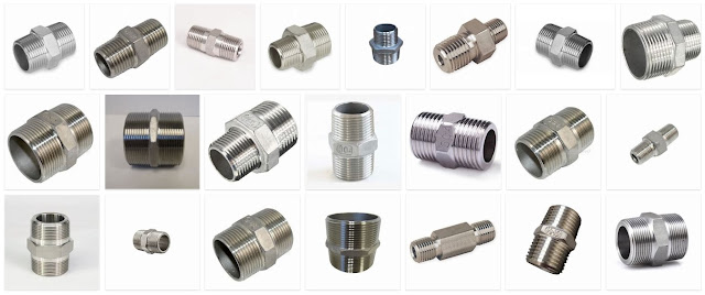Stainless Steel Hex Nipple Manufacturer Supplier Trader Stockist from GIDC Gujarat India