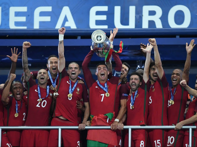 Euro 2016 Final Highlights
