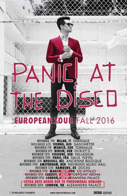 Panic! At The Disco Alexandra Palace Review 2016