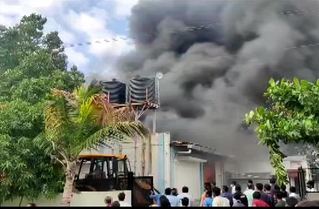 पुणे में सैनेटाइजर बनाने वाली फैक्ट्री में भीषण आग, 12 की मौत
