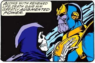 The Infinity Gauntlet a pu être qualifiée d'histoire d'amour bizarre