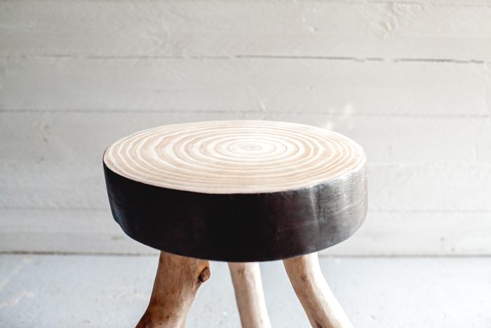 handmade wood stand