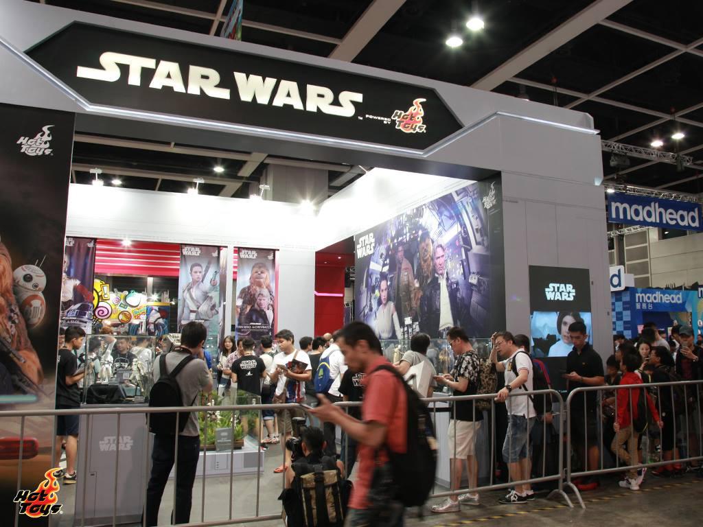 Exhibition Booth Rental Hong Kong : Starwarsallday starwars by hot toys acghk ani
