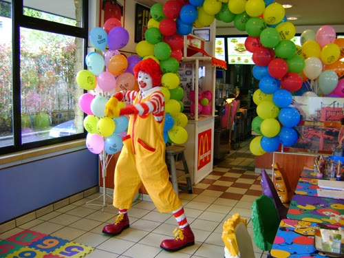 festa de aniversário mcdonalds