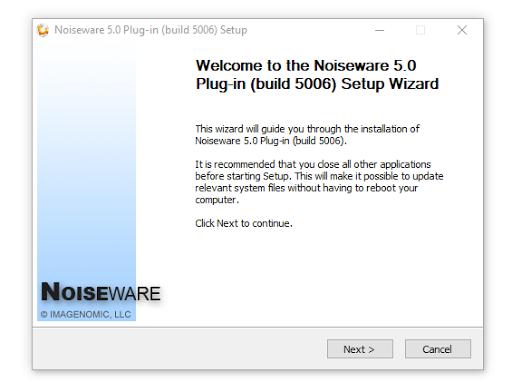 Cara Install Noiseware