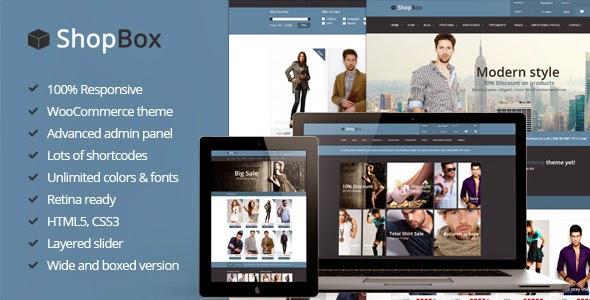 Responsive Premium WooCommerce Theme