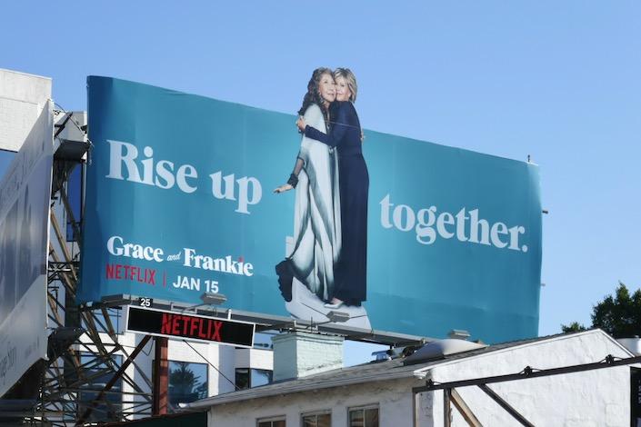 Grace and Frankie season 6 extension billboard