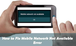 how to fix mobile network not available