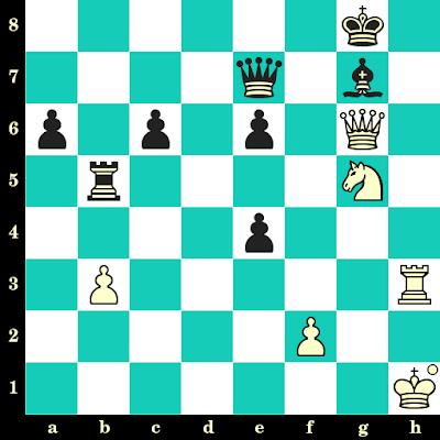 Les Blancs jouent et matent en 2 coups - Gudmundur Kjartansson vs Sergey Fedorchuk, Legnica, 2013