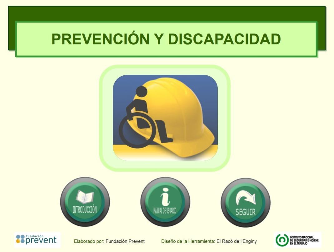 Prevención y discapacidad – INSHT