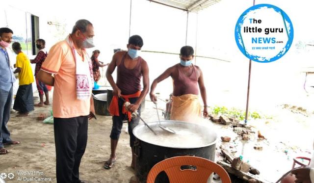 विधायक ने बाढ़ प्रभावित क्षेत्रों का किया दौरा