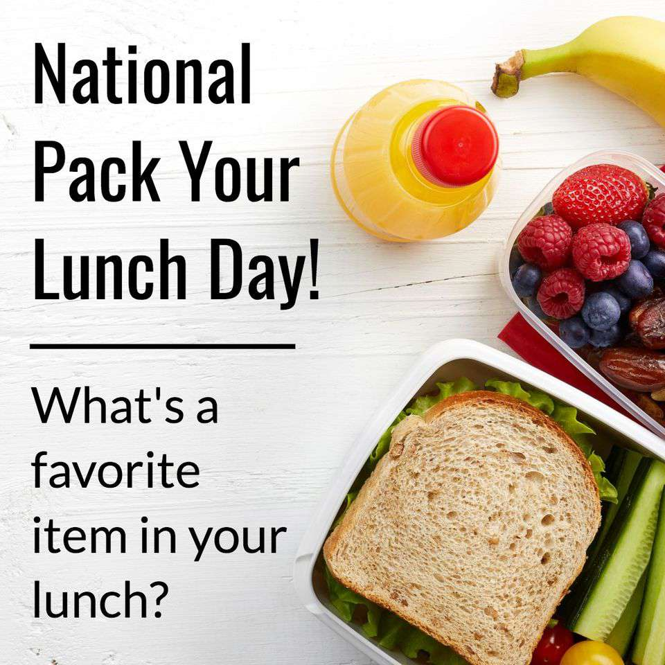 National Pack Your Lunch Day Wishes for Whatsapp