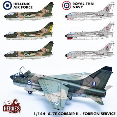 A-7 E's Foreign Service
