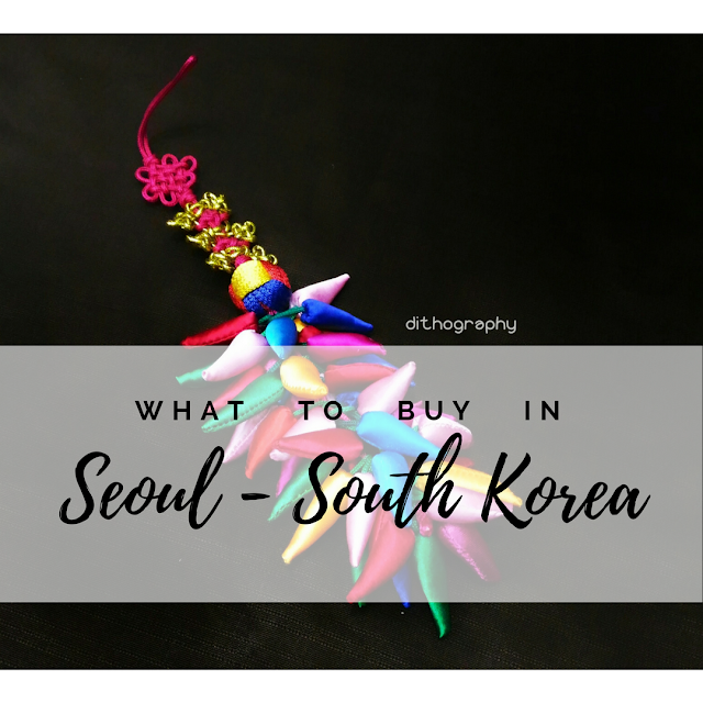 what to buy in seoul south korea