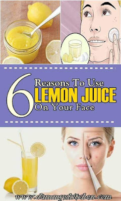 6 Reasons To Use Lemon Juice On Face