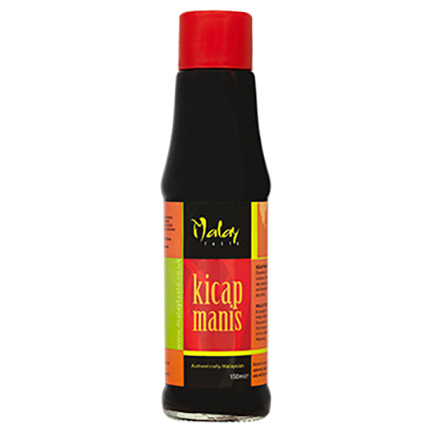 a bottle of Ketjap Manis