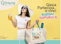 Logo Buyfarma vinci gratis una borsa mare con un doposole da 200ml