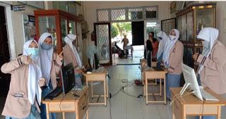 SMAN 7 Lhokseumawe Gelar Pemilihan ketua Osis Dengan Sistem Evoting