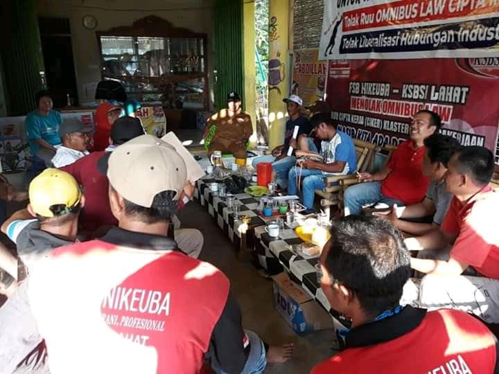 Ribuan Buruh di Lahat Ancam Demo Tolak RUU Omnisbus Law Cipta Kerja