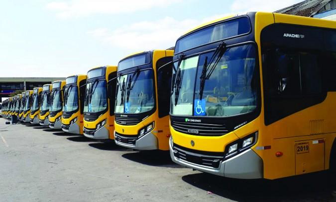 Apta conclui entrega de 100 Volksbus para a Transunião
