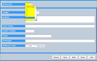Aplikasi Excel Laporan Kinerja Harian Versi 2