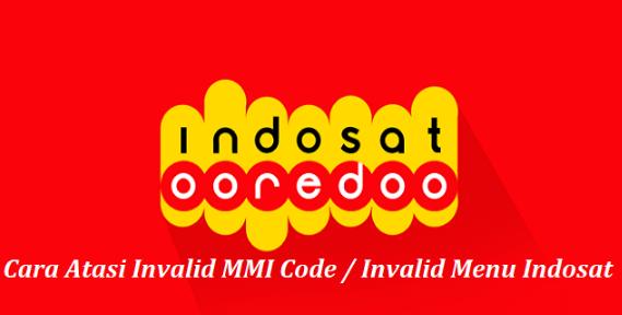 Cara Mengatasi Invalid Menu Indosat