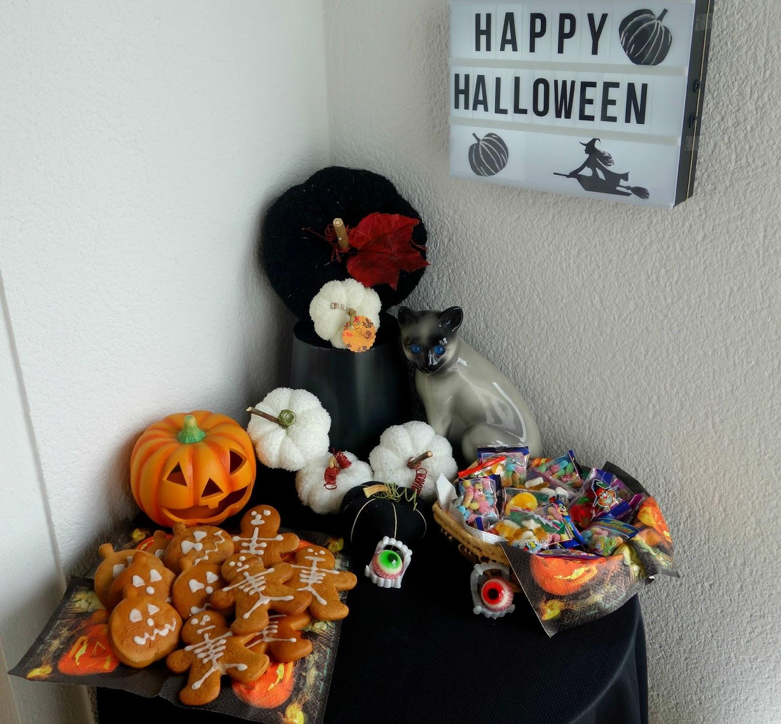 Bärbel bloggt: Kürbis DIY und Süßes für Halloween