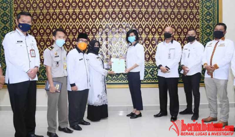 Pengembang Perumahan Wedindra Regency Serahkan PSU ke Pemko Tanjungpinang